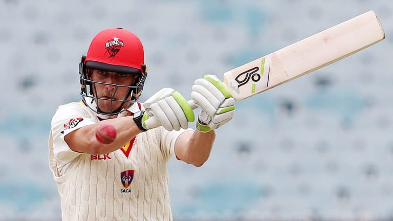 Jake Lehmann has delivered massive recent scores in Shield cricket.