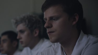 Lucas Hedges stars as Jared, who has no doubt that he's gay, but he's not sure that he wants to be.