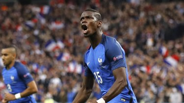 Big transfer: Paul Pogba is on his way back to Manchester United.