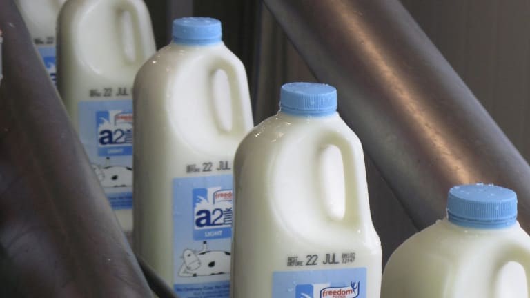 Shares In A2 Milk Continue Bubbling Higher