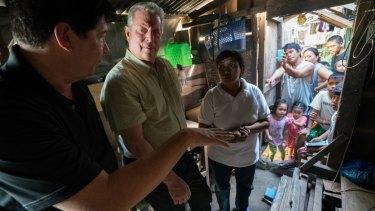 Al Gore in <em>An Inconvenient Sequel: Truth to Power</em>.
