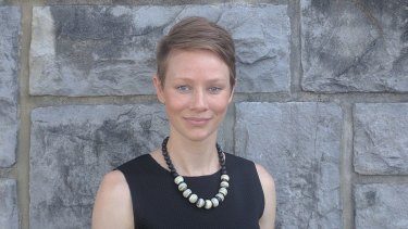 Athlete-turned-academic Madeleine Pape