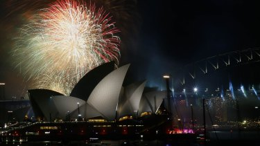 Final preparations are in full swing as barges are loaded with 120 tonnes of fireworks on Sydney Harbour.