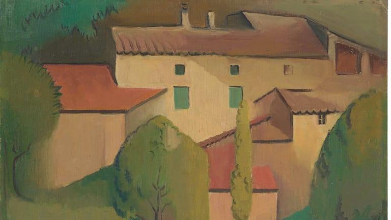 Provencale farmhouse (detail), 1928