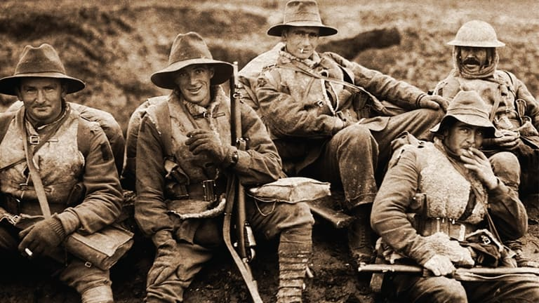 Diggers on the Western Front.