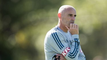 "Kevin Muscat is joining the Socceroos in Russia as an ""observing coach""."