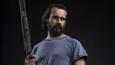 Aaron Pedersen plays indigenous detective Jay Swan for the second time.