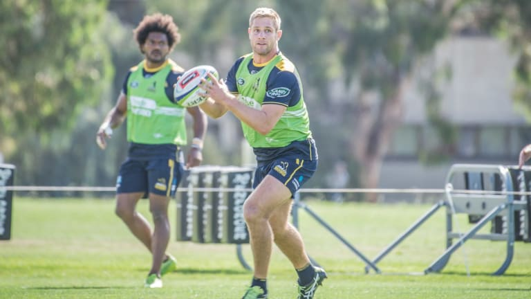Kyle Godwin is weighing up his Super Rugby future.