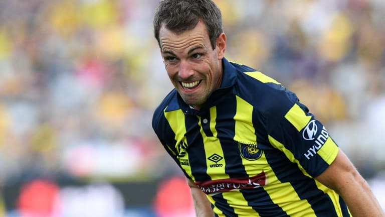 Banned: Mariners player Wout Brama.