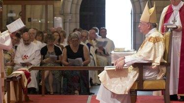 Anglican Archbishop Dr Phillip Aspinall.
