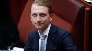 Senator James Paterson: initial proposals may be revived under push from senior church leaders.
