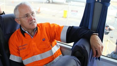 Prime Minister Malcolm Turnbull toured Chevron's mammoth Gorgon LNG plant in April – a project he approved as environment minister in 2007.