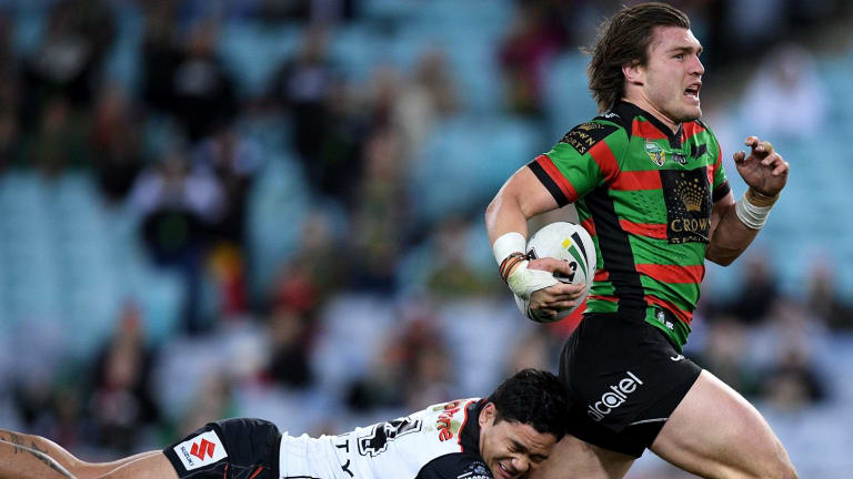 One that got away: Souths say they couldn't match the money on offer for Angus Crichton.