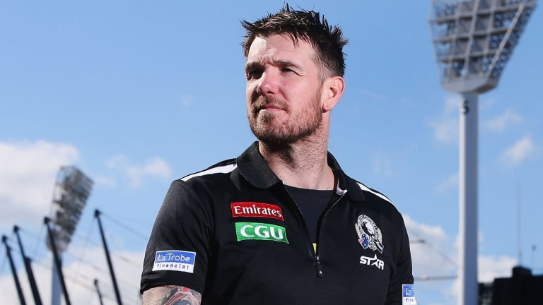 Retired Magpie Dane Swan enters the jungle.