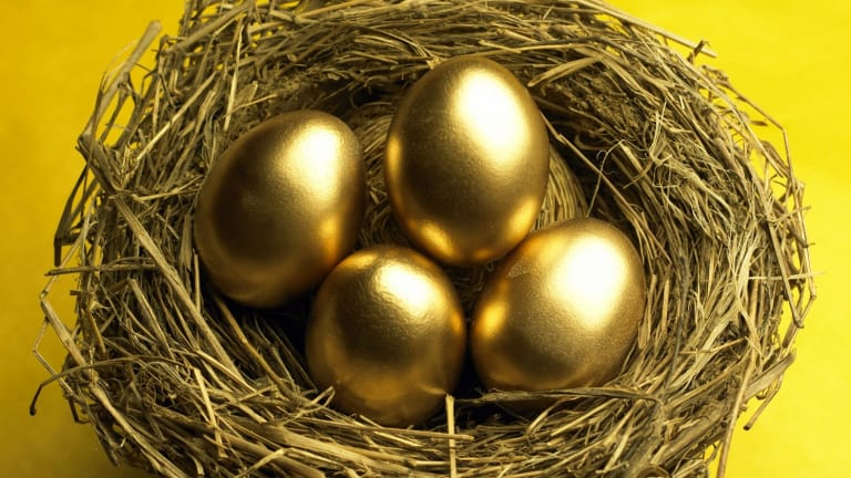 Former or current public servants who are in a defined benefit fund have nest eggs just a little more golden than the rest of us.