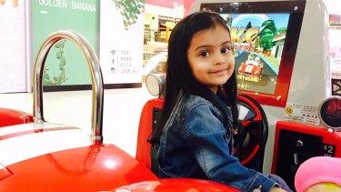 Vanika Idnani, 3, died from influenza in July.