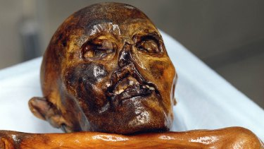 Otzi the ice man, a 5300 year old mummy, found in the Tyrolean Otz Valley in September 1991, is considered the oldest and best preserved mummy in the world.