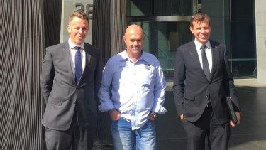 Simon Steenhof of Steenhof Brothers; Peter Lyndon-James, Founder & CEO of Shalom House; John Steenhof of Steenhof Brothers.