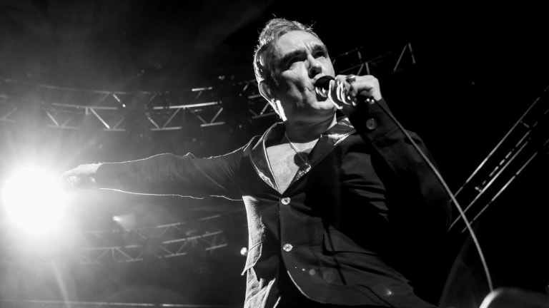 High passion: Morrissey is still angry after all these years.