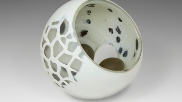 Nikki Main, Yolk, on show in Citizens of Craft at Craft ACT