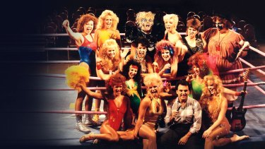 GLOW: The Story of The Gorgeous Ladies of Wrestling.