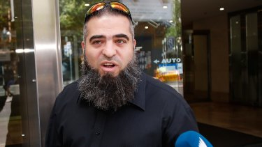 Accused: Hamdi Alqudsi is said to be recruiting foreign fighters.