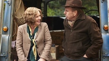 Imelda Staunton and Timothy Spall in <i>Finding Your Feet</i>.
