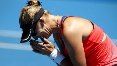 """Mirjana Lucic-Baroni said her victory made the bad things in her life """"OK""""."""