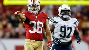 Taking a punt: Jarryd Hayne is set to embark on a new chapter with the San Francisco 49ers as part of their regular season roster.