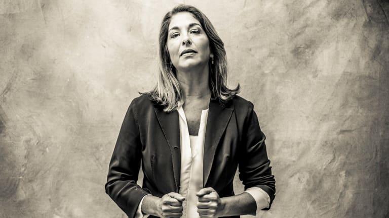 Naomi Klein, the author is No Logo.