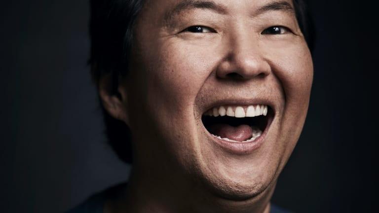Ken Jeong cried when he first saw Crazy Rich Asians.