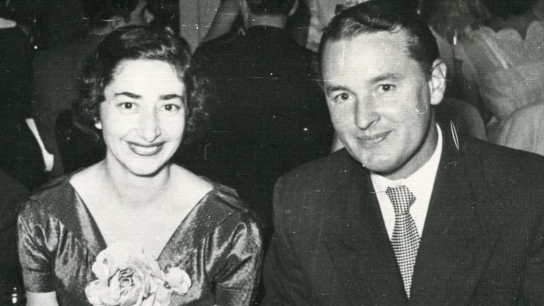Maria and Neil Davey in the early 1960s. They met in Melbourne during World War II when they were both working in the Signal Corps in Melbourne –  he for the Australian Army; she for the US Army.