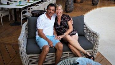 Nando and Jo Farello retired overseas in their 50s.