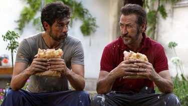 Alessandro Gassman, left, and Marco Giallini share different philosophies in <i>God Willing</I>.