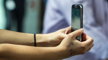 Intimate details: It may be popular but researchers say the sexters they surveyed were uncomfortable about the images being widely available.