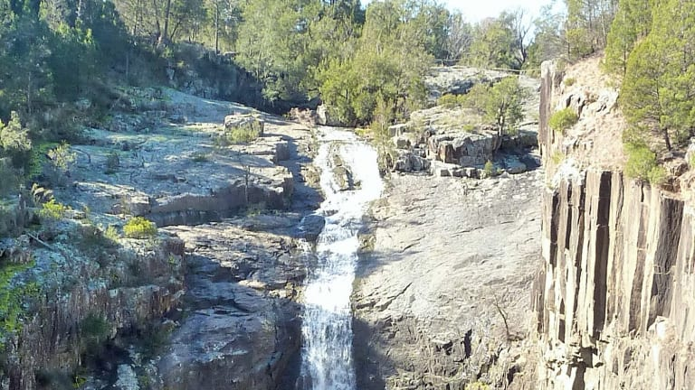 Ginninderra Falls, a natural wonder.