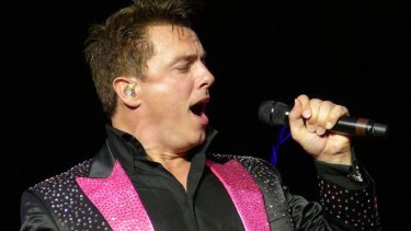 Some of the pop material seemed wasted on Barrowman's vocals.