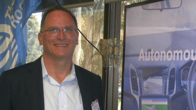Canberra Business Chamber chairman Glenn Keys wants Canberra to be a pioneer in the use of autonomous cars.