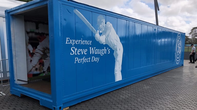 Steve Waugh fan experience at the SCG.