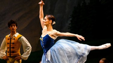 Maria Eichwald, as Giselle, dances and acts with outstanding skill and conviction.
