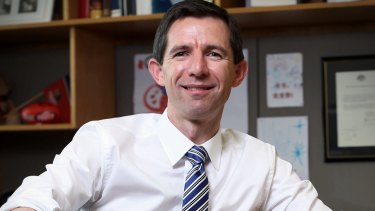 Education Minister Simon Birmingham warns higher education costs have grown dramatically over recent years.