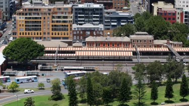 The government passed legislation late last year to close the heavy rail line into the centre of Newcastle.