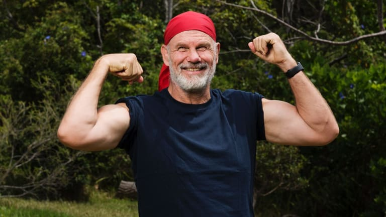 Peter FitzSimons has lost over 40 kilograms.