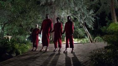 Doppelgangers provide a terrifying presence in Jordan Peele's Us.