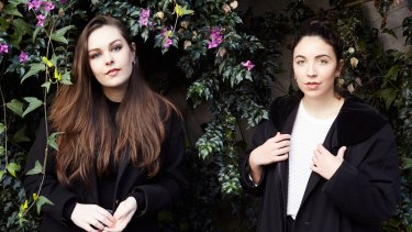 Saint Sister: electro-pop overlaid with dreamy and emotive lyrical work.