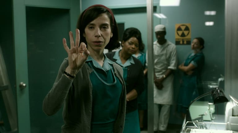 Underdogs: Sally Hawkins and Octavia Spencer in The Shape of Water