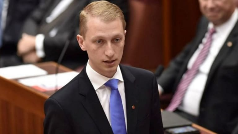 """""""Every item of spending needs to be scrutinised more closely"""": Victorian Liberal senator James Paterson."""