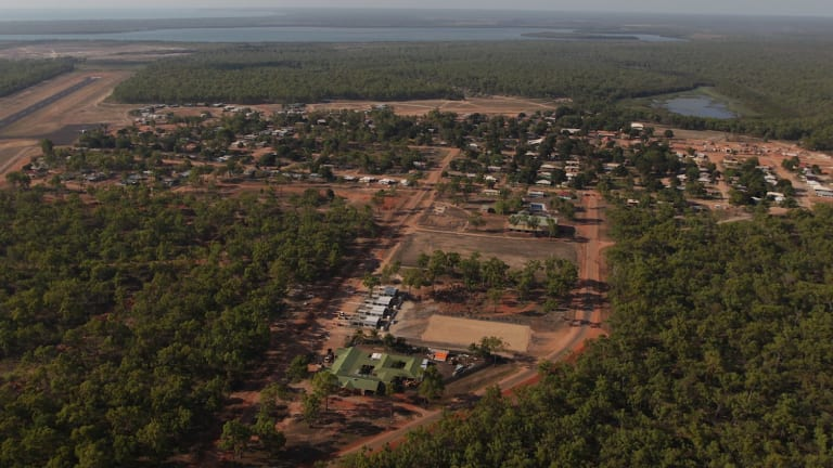 The far north Queensland community of Aurukun.