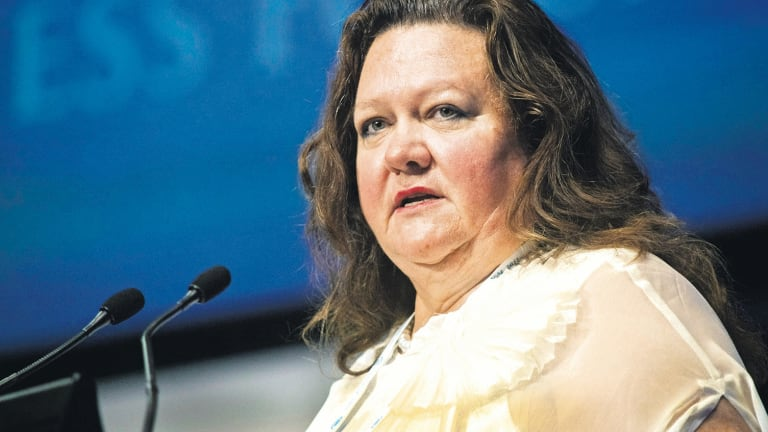 Gina Rinehart has sold her stake in Fairfax.