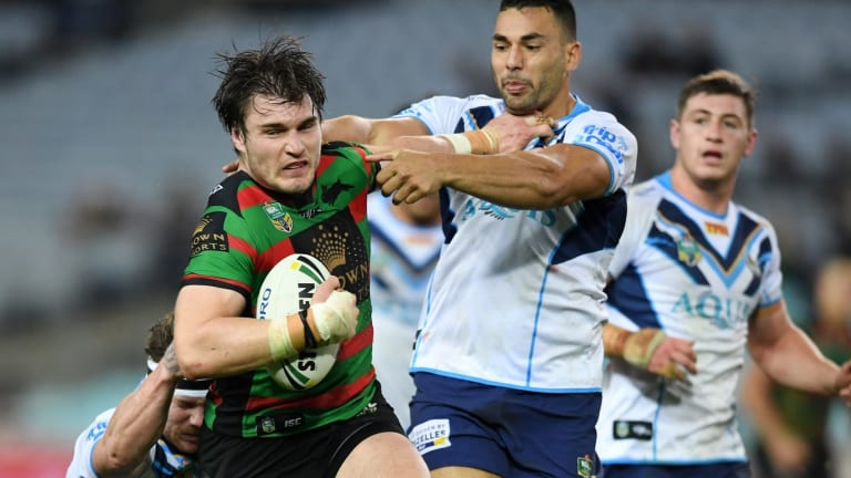 Prime Angus beef: The Roosters have lured Angus Crichton away from arch-rivals Souths.